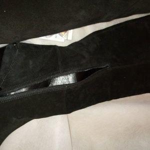Zara Shoes - ZARA BRAND EXTRA LONG BLACK BOOT SIZE 37